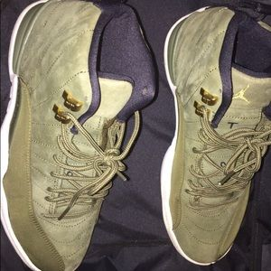 "f0bb0b20a0c3 Jordan Shoes - Jordan Retro 12. Olive Green ""Class of 2003"""